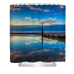 Reflections Shower Curtain by Adrian Evans