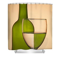 Reflections And Refractions Shower Curtain by Susan Candelario