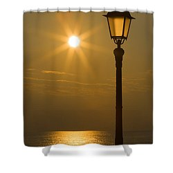 Reflections Shower Curtain by Antonio Scarpi