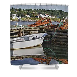 Reflections Shower Curtain by Eunice Gibb