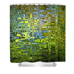 Reflections In Millard Creek Shower Curtain