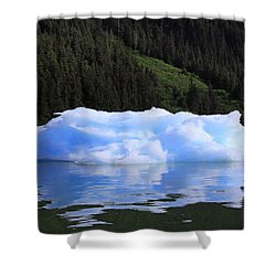 Reflections In The Sea Shower Curtain by Shoal Hollingsworth