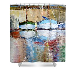 Reflections Shower Curtain by Janet Garcia