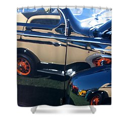 Shower Curtain featuring the photograph Reflections by Joe Kozlowski
