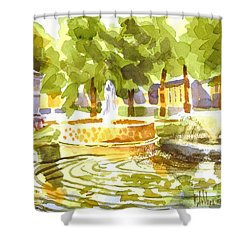 Reflections Shower Curtain by Kip DeVore