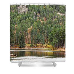 Reflections Shower Curtain by Mary Carol Story