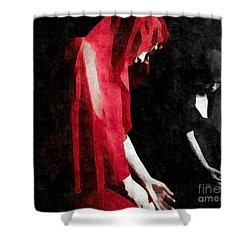 Reflections Of A Broken Heart Shower Curtain