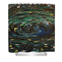 Reflections Of Christmas #3 Shower Curtain by Wayne Cantrell