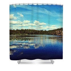 Reflections Of Nature Shower Curtain by Nicklas Gustafsson