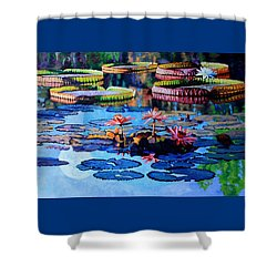 Reflections Of Nature's Beauty Shower Curtain by John Lautermilch
