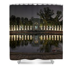 Reflections Of The Atlantic Theater Shower Curtain
