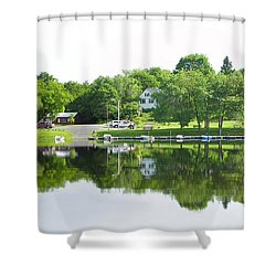 Reflections Of The Landing Shower Curtain