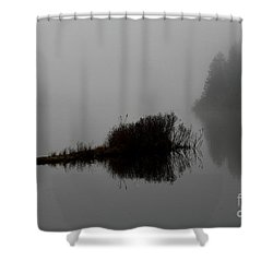 Reflections On A Lake Shower Curtain
