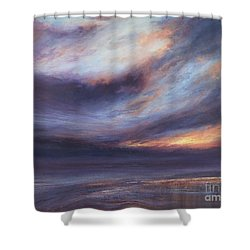 Reflections Shower Curtain by Valerie Travers