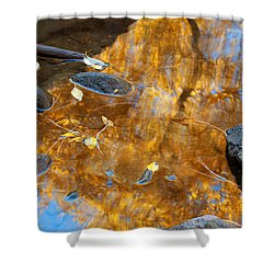 Shower Curtain featuring the photograph The Melting Pot by Jim Garrison