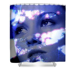 Reflective Shower Curtain by Richard Thomas