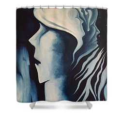 Refuge Shower Curtain by Michael  TMAD Finney