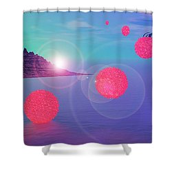 Regenesis Shower Curtain