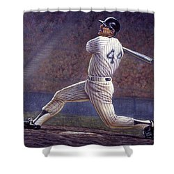 Reggie Jackson Shower Curtain