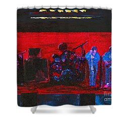 Rehearsal Shower Curtain by Alys Caviness-Gober