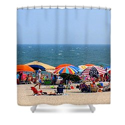 Rehobath Beach Delaware Shower Curtain