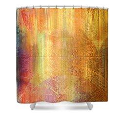 Reigning Light - Abstract Art Shower Curtain