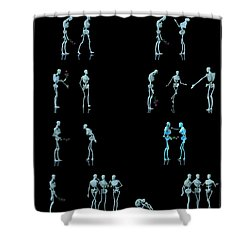 Rejected Robot... Shower Curtain