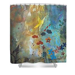 Rejuvenate Shower Curtain by Robin Maria Pedrero