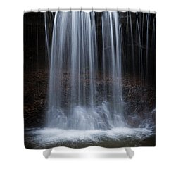 Relative Dynamic Viscosity Shower Curtain by John Stephens