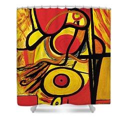 Relativity 2 Shower Curtain