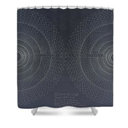 Relativity Shower Curtain