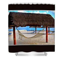 Relaxation Defined Shower Curtain by Patti Whitten