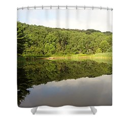 Relaxation Shower Curtain by Michael Porchik