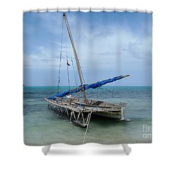 Relaxing After Sail Trip Shower Curtain