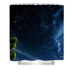 Releasing The Stars Shower Curtain