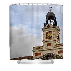 Reloj De Gobernacion 1 Shower Curtain