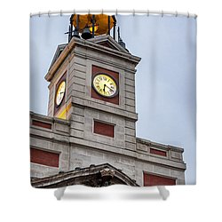 Reloj De Gobernacion 2 Shower Curtain