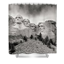 Remarkable Rushmore Shower Curtain