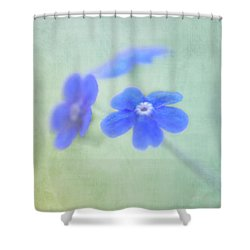 Shower Curtain featuring the photograph Remember Me by Annie Snel