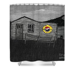 Remember When Old Pepsi Sign 2 Shower Curtain by Barbara Griffin