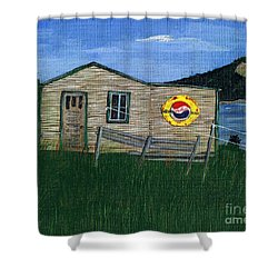 Remember When - Pepsi Shower Curtain by Barbara Griffin