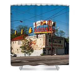 Shower Curtain featuring the photograph Remember When? by Robert L Jackson