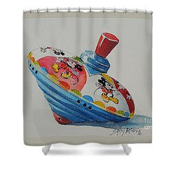 Remember When?...sold  Shower Curtain