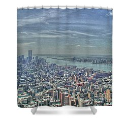 New York Remembering 9/11 Shower Curtain