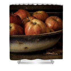 Remembering Autumn Shower Curtain by Amy Weiss
