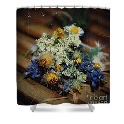 Remembering July Shower Curtain