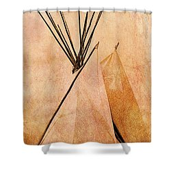 Remembering The Past Shower Curtain
