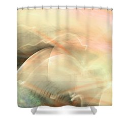 Remembrance - Pink Shower Curtain