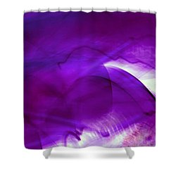 Remembrance - Purple Shower Curtain