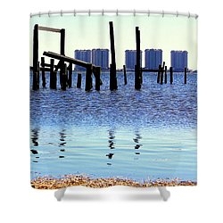 Shower Curtain featuring the photograph Reminders by Faith Williams